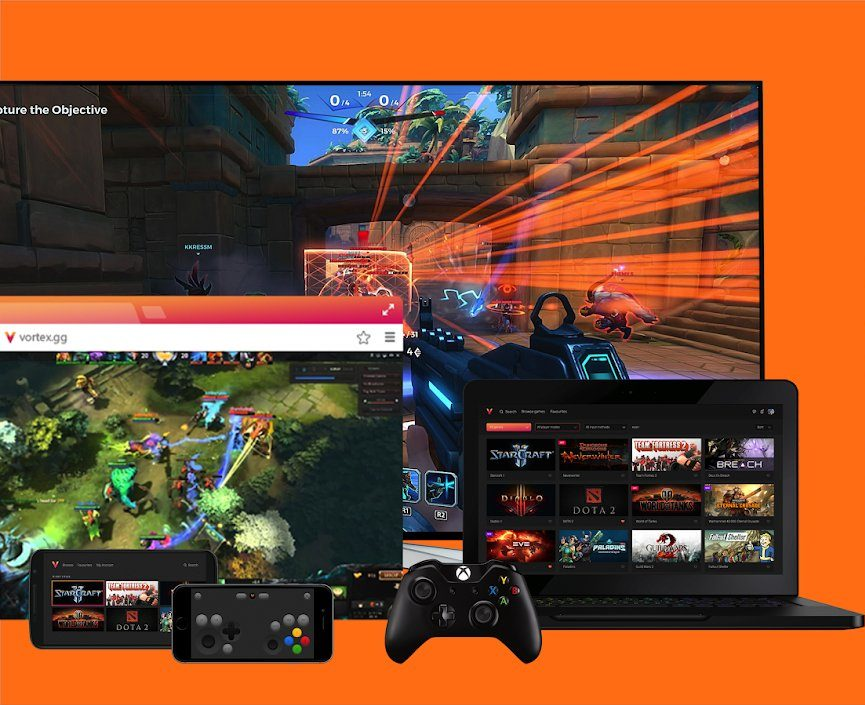 Use your XBOX controller on your Vortex Cloud Gaming on Android