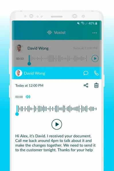 Best Voicemail Apps for Android - Voxist Transcription
