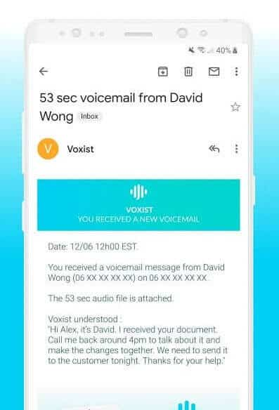 Best Voicemail Apps for Android - Voxist Email
