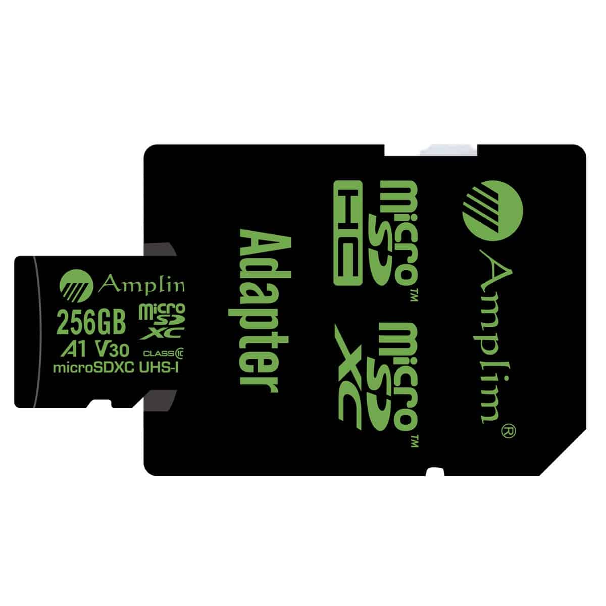 Amplim MicroSD with its Adapter