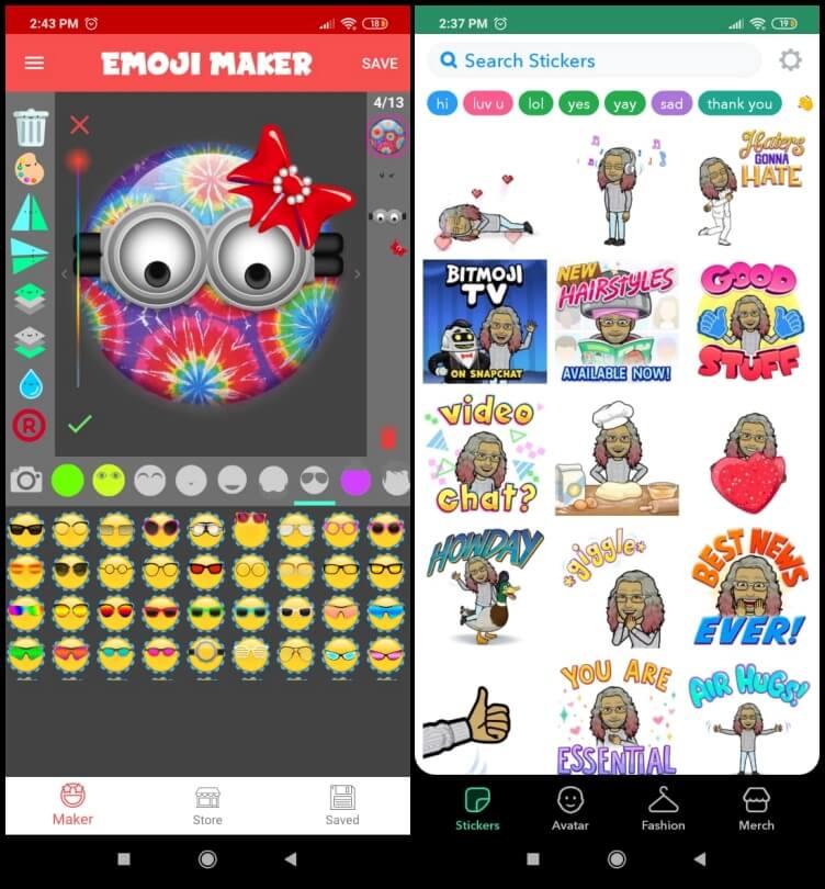 Best Animoji Apps for Android- Emoji Maker