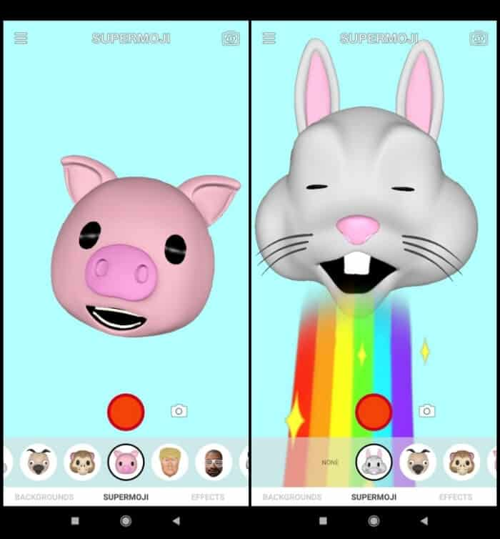 Best Animoji Apps for Android- Supermoji