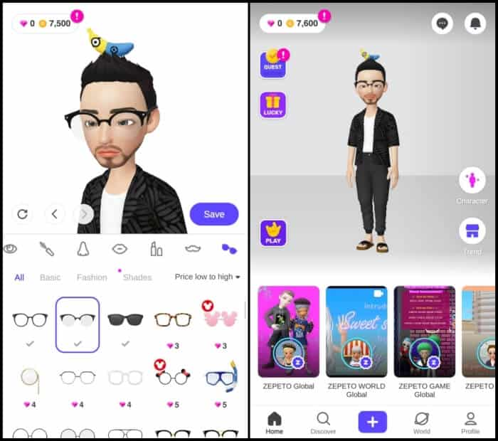 Best Animoji Apps for Android - ZEPETO