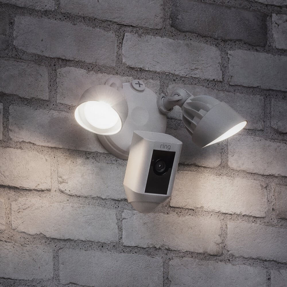 Best Home Security Camera Systems - Ring Floodlight Camera Image 2