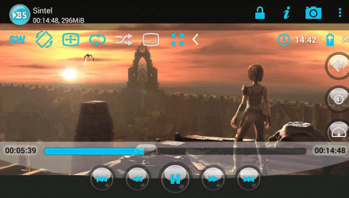 bsplayer free video player app for android