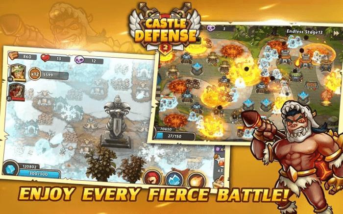 castle defense 2 tower defense game