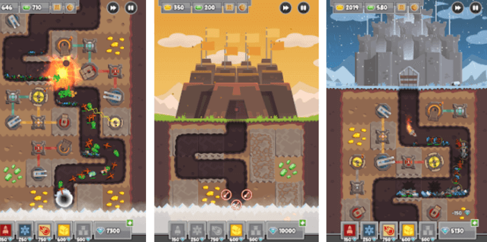 digfender tower defense game