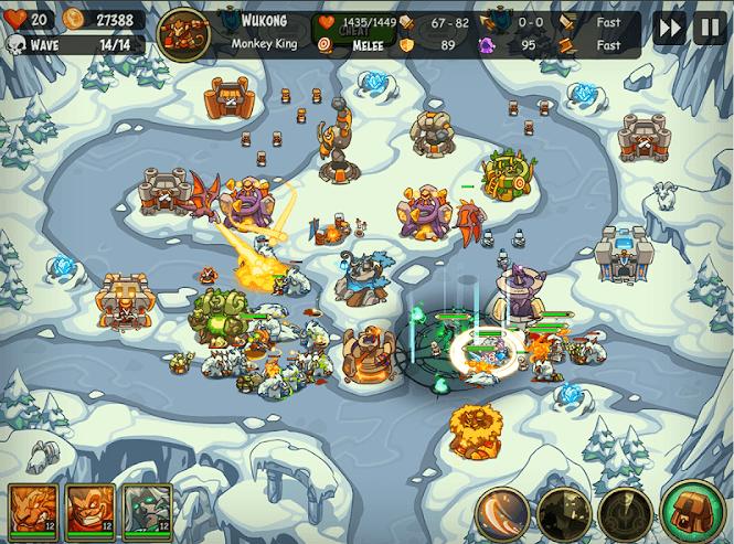 empire warriors premium tower defense game