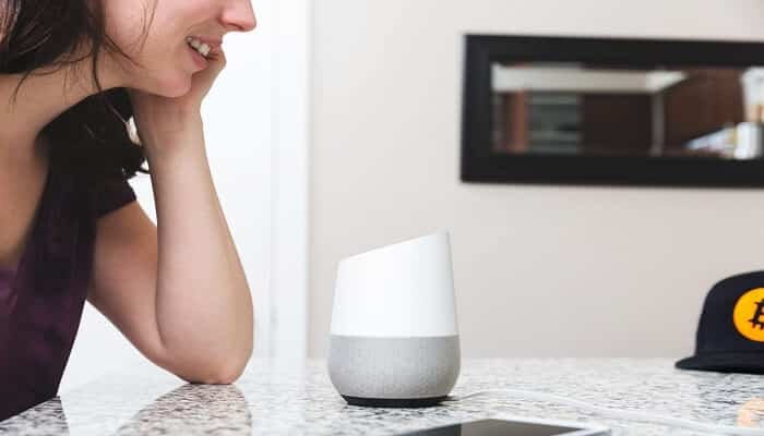 google home compatible speakers: featured image