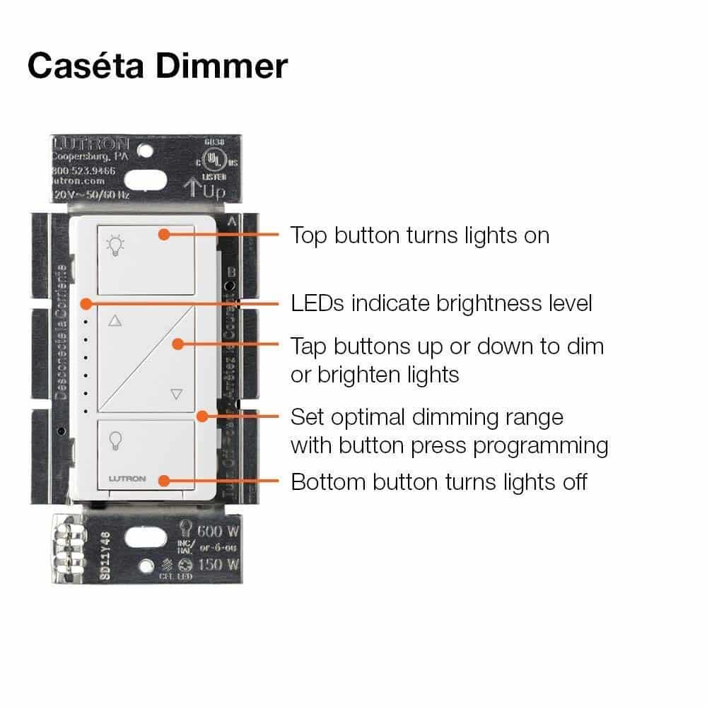 How the Lutron Caseta Dimmer Works