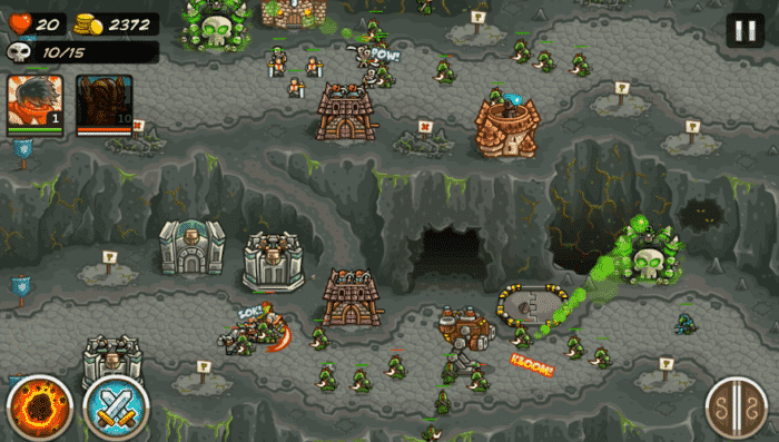 kingdom rush frontiers tower defense game for android