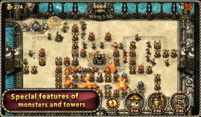 myth defense 2 df platinum tower defense game