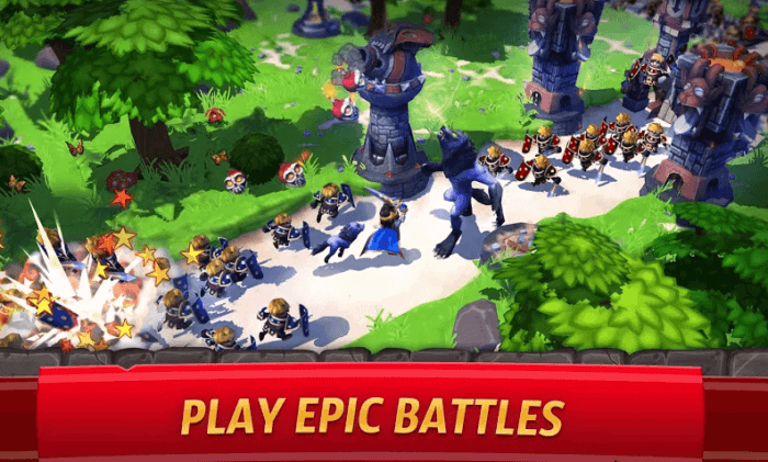 royal revolt 2 tower defense game for android