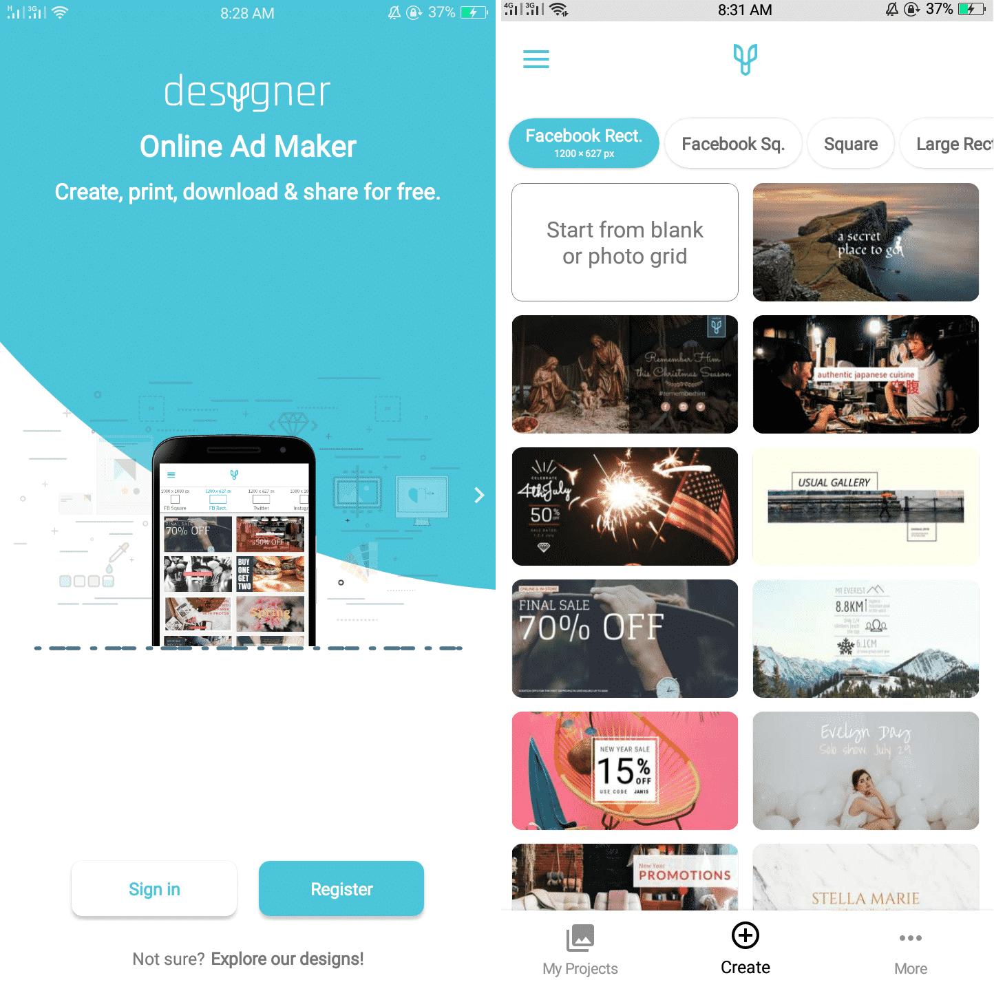 advertising apps