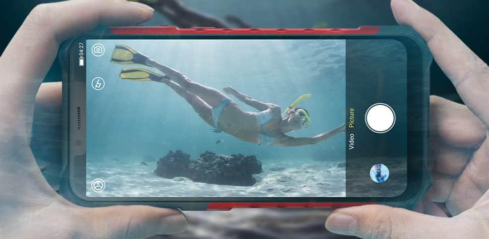 Best Phones for Outdoor Travel - Ulefone Armor 6E Camera