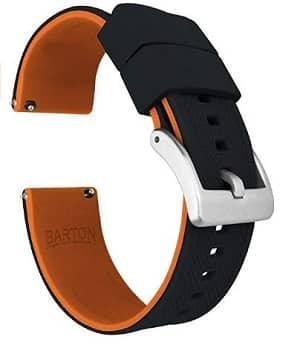 Best Huawei Watch and Huawei Watch 2 Watch Bands: Barton Elite Silicone Watch Band