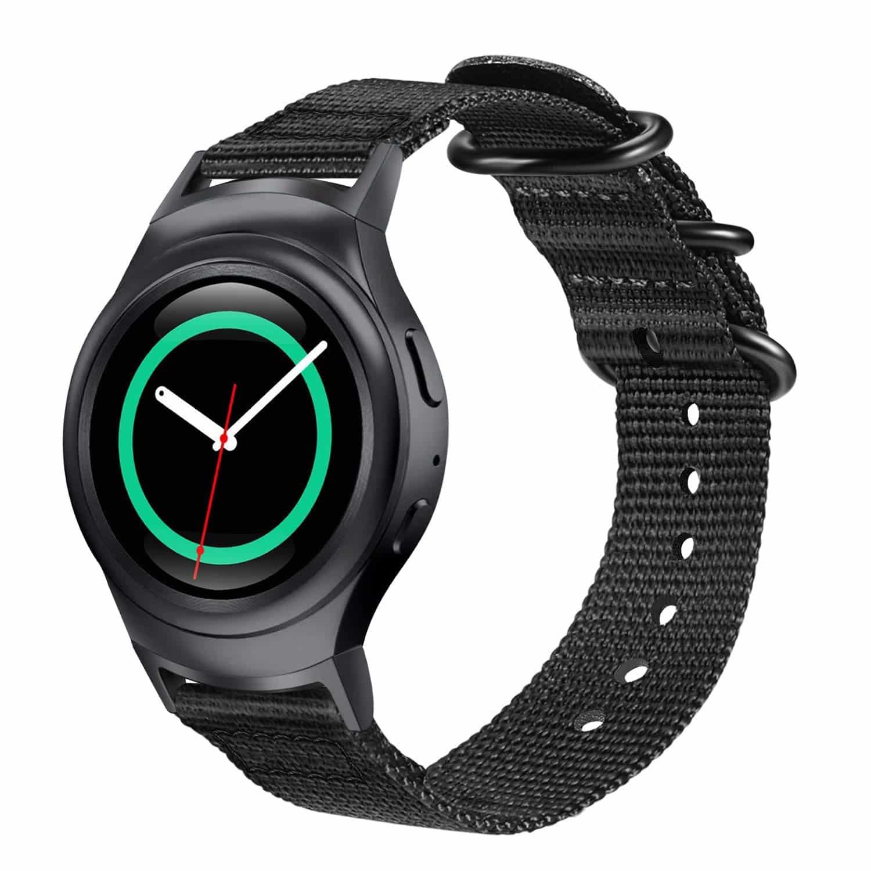 Best Samsung Gear S2 Watch Bands - Fintie Nylon Sport Strap