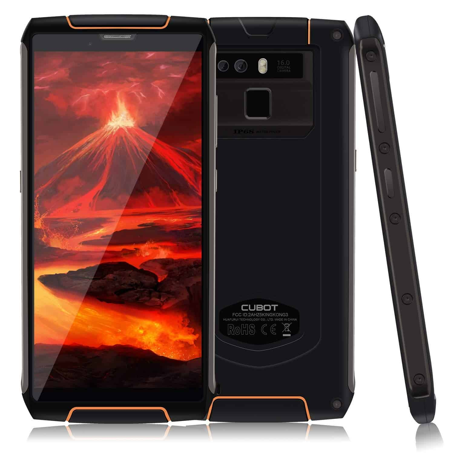 Best Phones for Outdoor Travel - CUBOT King Kong 3