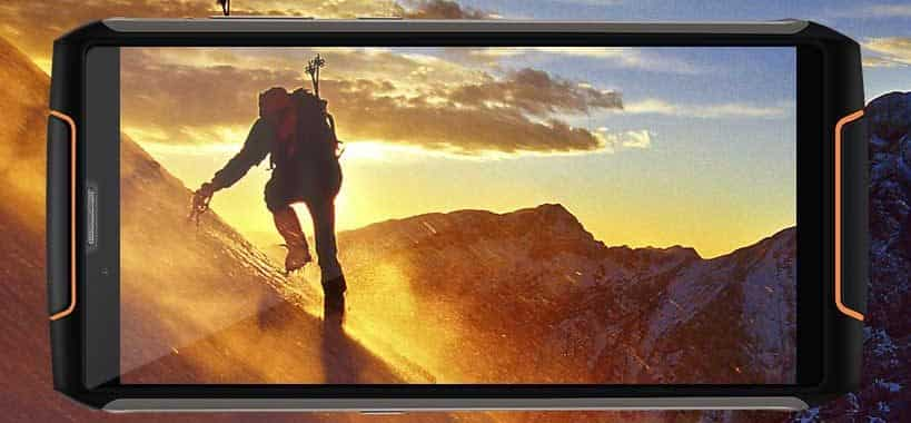 Best Phones for Outdoor Travel - CUBOT King Kong 3 Cameras