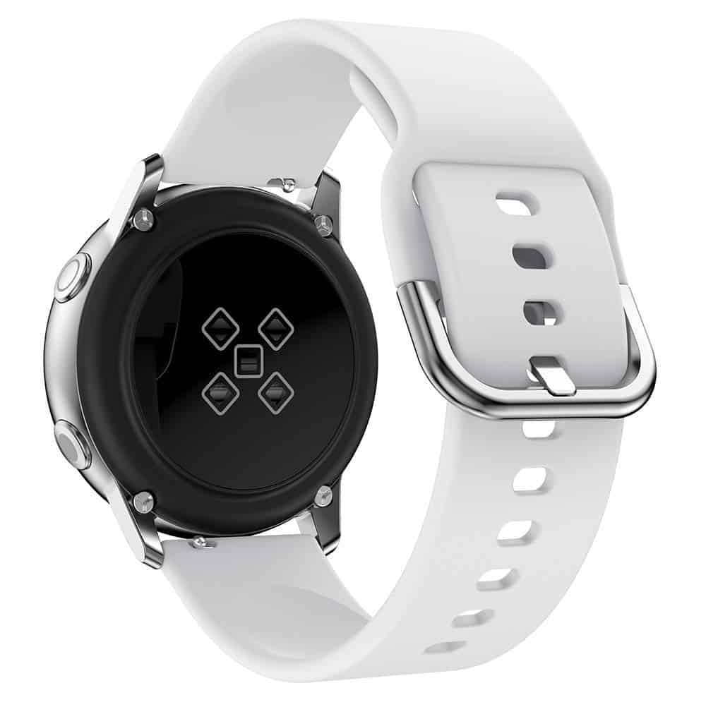Must-Have Accessories for Samsung Galaxy Watch Active2 - Minggo Silicone Sports Wristband Back