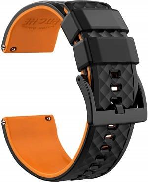 Best Huawei Watch and Huawei Watch 2 Watch Bands: Ritche Silicone Watch Band