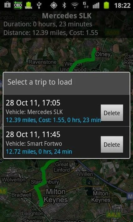 Best Car Diagnostic Apps for Android - Torque Pro GPS