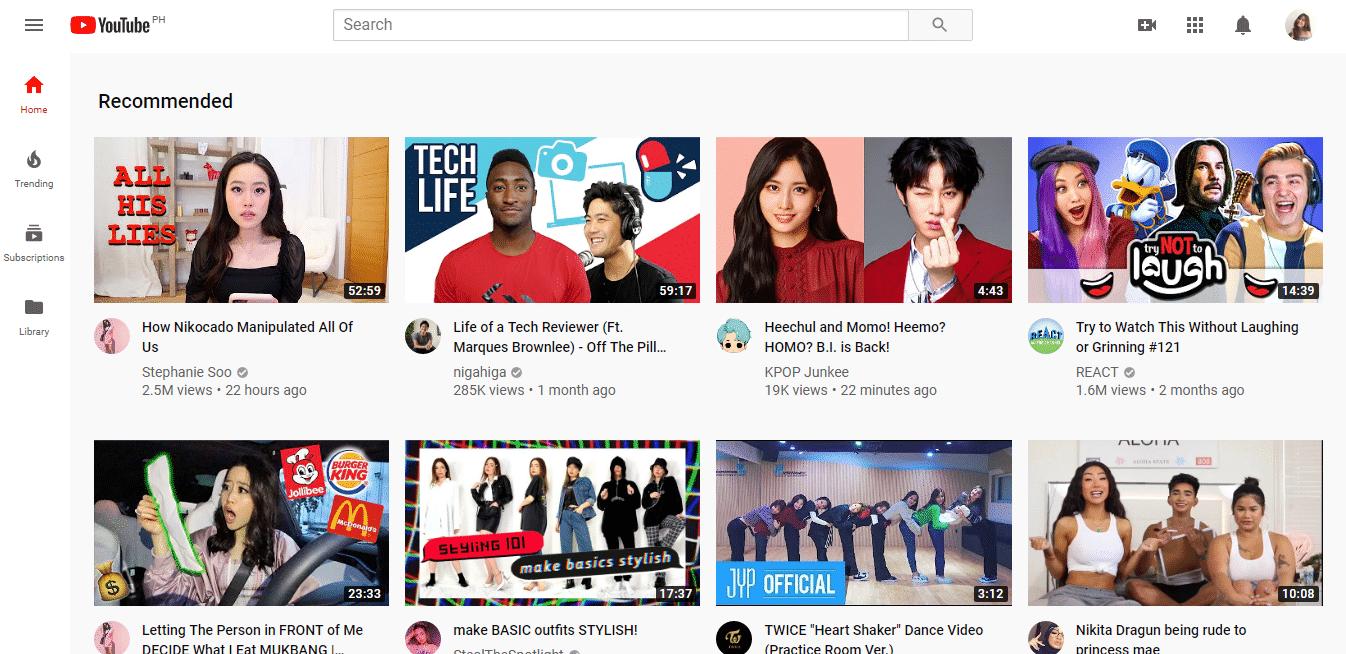 Vizio Smart TV Apps YouTube