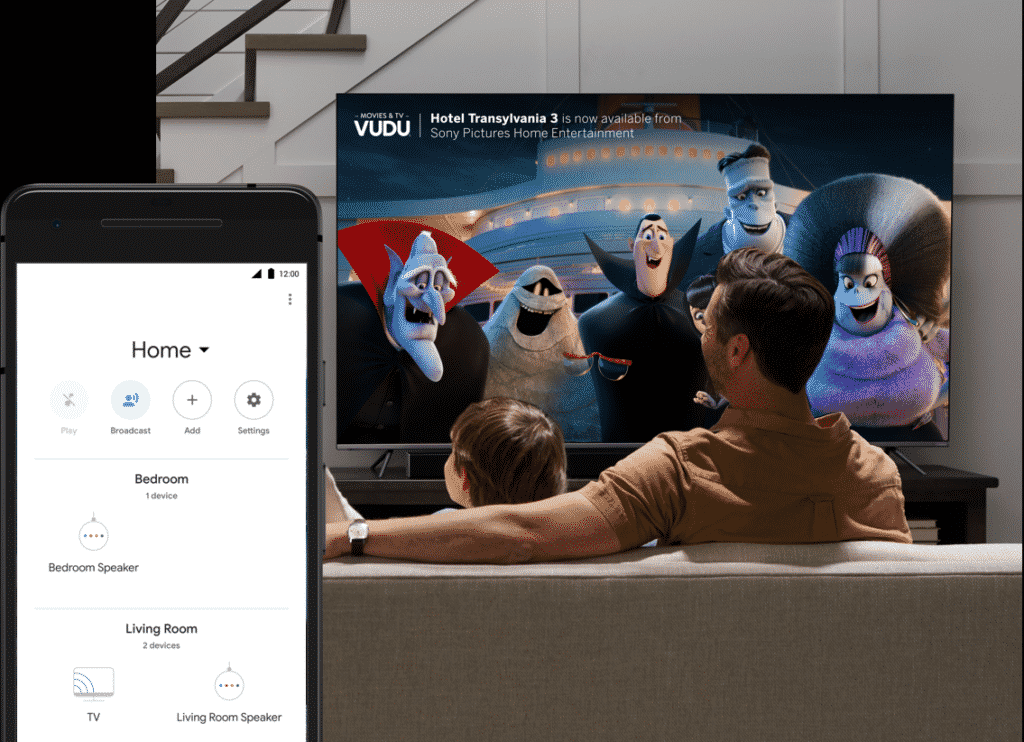 How to Connect Google Home to VIZIO Smart TV