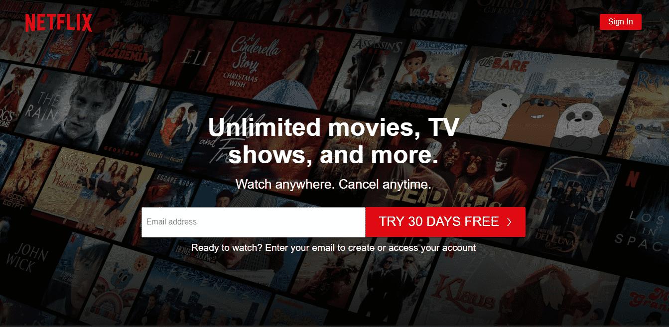 Vizio Smart TV Apps Netflix