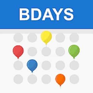 Birthday Reminder Apps - Birthday Calendar Reminder