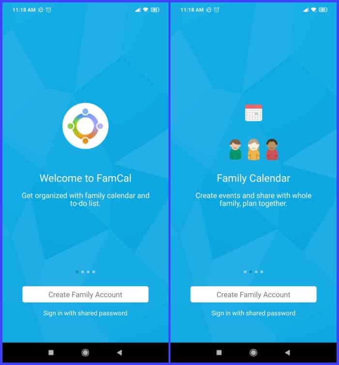 Birthday Reminder Apps - FamCal