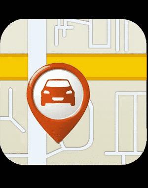 car locator app: car finder logo