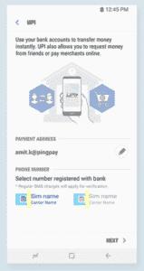 create user profile