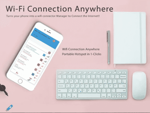 free wifi connection anywhere hotspot app for android