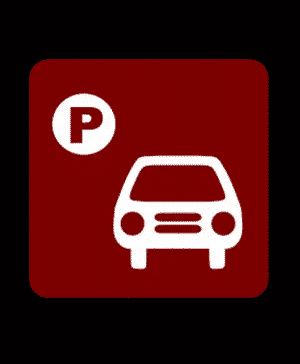 car locator app: locate parked vehicle logo