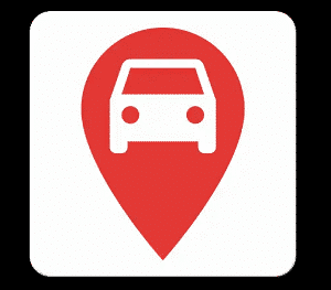 car locator app: parked car locator app icon