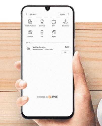 pay bills using samsung pay mini