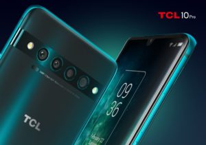 The TCL 10 Pro features four rear cameras too