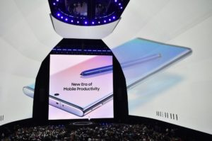 Samsung's Unpacked event last year where the Galaxy S10 series and Note 10 series were announced