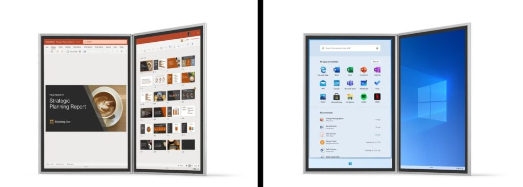 Windows 10X: a new operating system for dual-screens