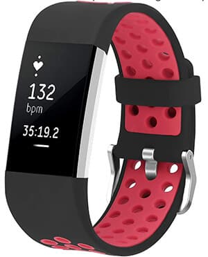 Best Android-Compatible Fitbit Watch Bands – Jobese Breathable Sport Band Replacement