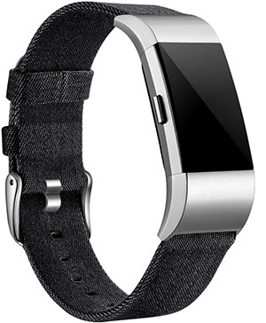 Best Android-Compatible Fitbit Watch Bands – Maledan Woven Fabric Band Replacement