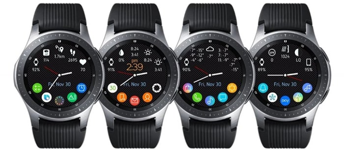 Best Samsung Galaxy Active2 Watch Face - All in One Analog
