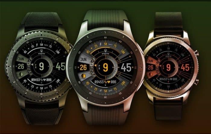 Best Samsung Galaxy Active2 Watch Face - Hitoshi Engine