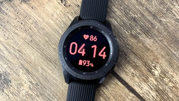 Best Samsung Galaxy Active2 Watch Face - Large Watch Face