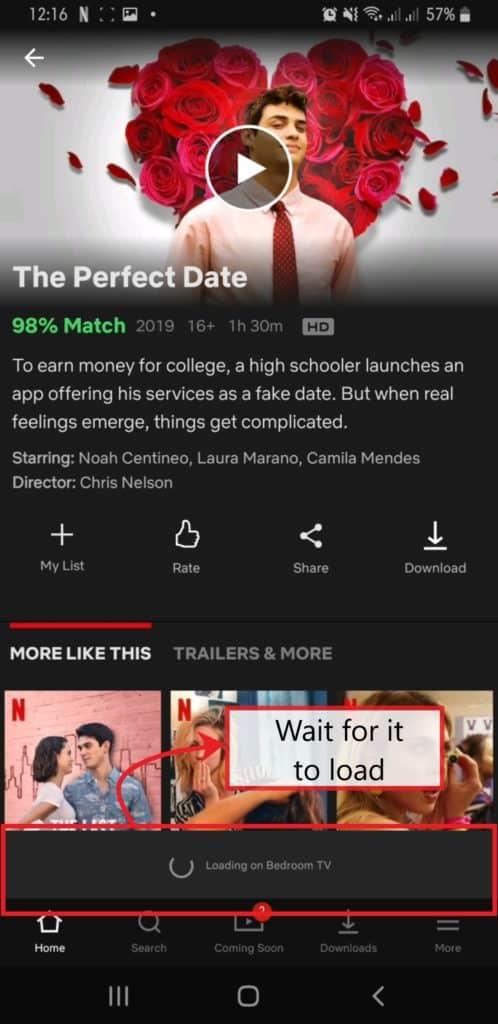 Chromecast-Connect-Netflix-Loading