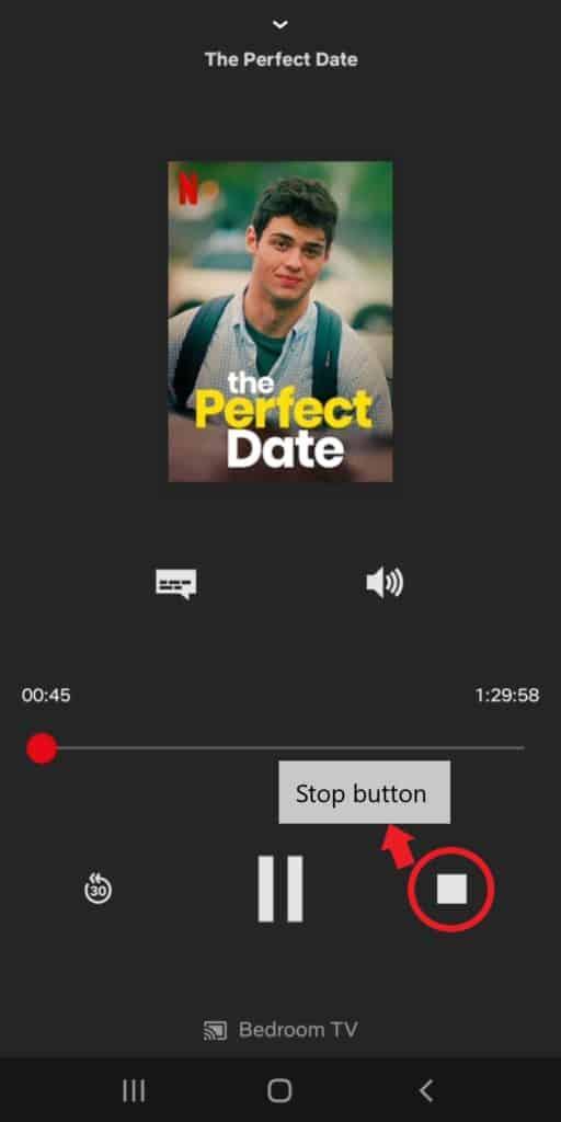 Chromecast-Disconnect-Netflix-Stop