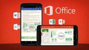The unified Office app lets you use Excel, Word, PowerPoint, Drive, and more without having to switch between apps