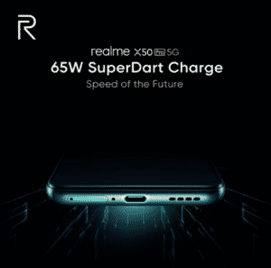 Realme confirms X50 Pro 5G will feature SuperDart fast-charging capabilities