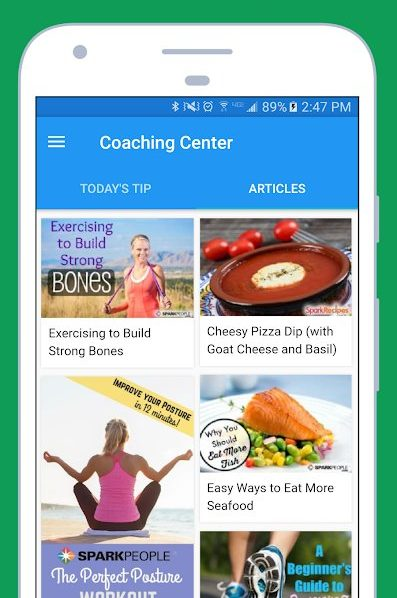 Best Apps Similar to the Weight Watchers App for Android - SparkPeople Coaching